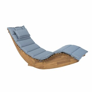 Arbaaz Sun Lounger With Cushion By 17 Stories