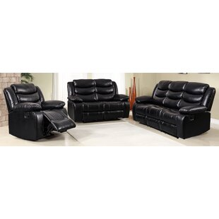 Hillcrest Reclining 3 Piece Living Room Set