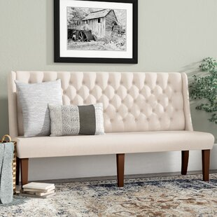 Diaz Upholstered Bench by Gracie Oaks