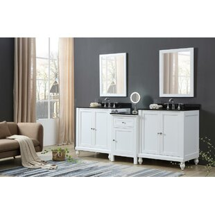Byrne 83 Double Bathroom Vanity Set by Rosecliff Heights