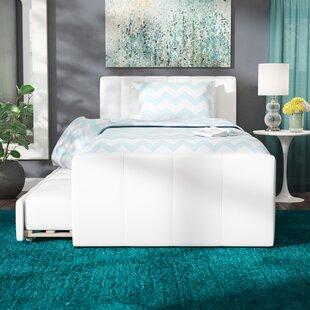 Viveros Upholstered Platform Bed By Wade Logan