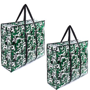Jumbo Laundry Bag (Set Of 2) By Rebrilliant