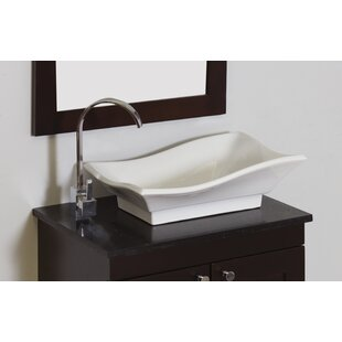 Reviews Ceramic Rectangular Vessel Bathroom Sink By American Imaginations