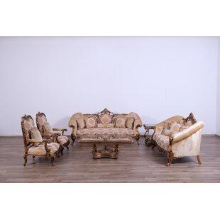 Meera 3 Piece Living Room Set by Astoria Grand