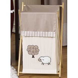 Sweet Jojo Designs Little Lamb Laundry Hamper