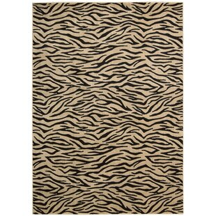 Price comparison Dryfield Ivory/Black Area Rug By Bloomsbury Market