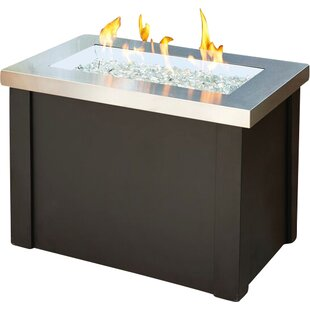 Providence Metal Gas Fire Pit Table