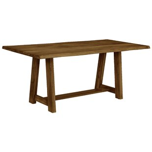 Gracie Oaks Rader Solid Wood Dining Table