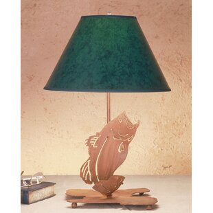 Leaping Bass 21.5 Table Lamp