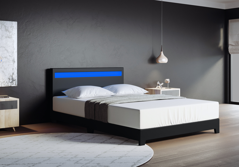 Wrought Studio Bassik Upholstered Low Profile Platform Bed Reviews Wayfair