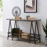 47.25 Solid Wood Console Table by 17 Stories