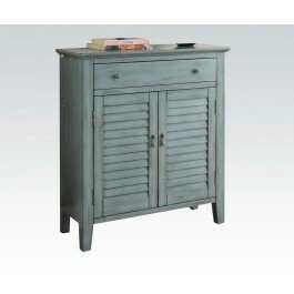 Pooler Antique 1 Door Accent Cabinet by Ophelia & Co.
