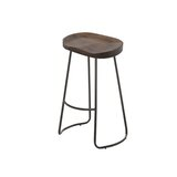 Kuhns Solid Wood 26'' Counter Stool (Set of 4) by Williston Forge