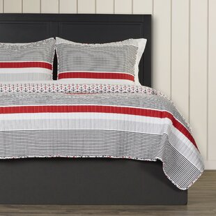 Chani 100% Cotton Reversible Quilt Set by Beachcrest Home New
