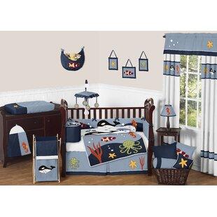 Ocean 9 Piece Crib Bedding Set BySweet Jojo Designs