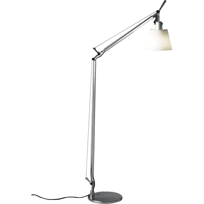 Artemide tolomeo with shade reading floor lamp reviews wayfair tolomeo with shade reading floor lamp aloadofball Image collections