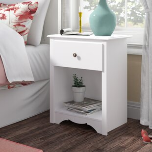 Affordable Hayman 1 Drawer Nightstand by Andover Mills