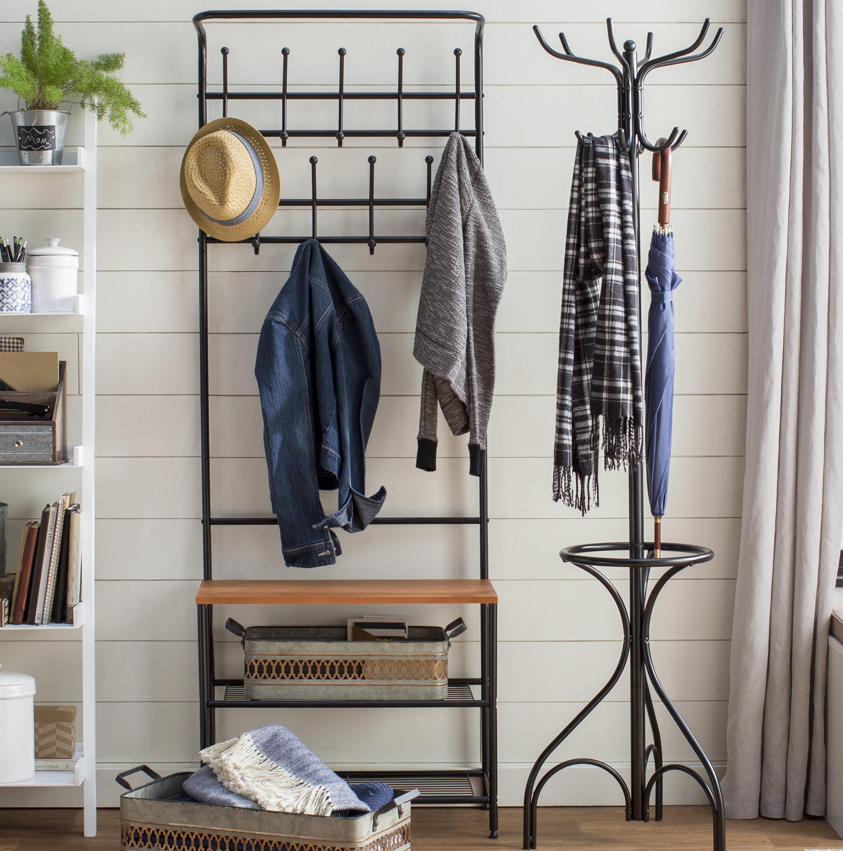 Entryway Shelf And Bench Set Wayfair