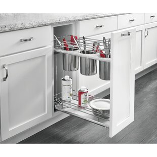 2 Tier Utility Organizer Pull Out Drawer