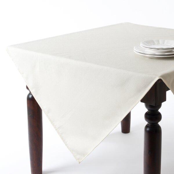 Saro Basket Weave Design Tablecloth Reviews Wayfair
