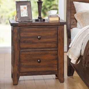 Compare & Buy Jacob 2 Drawer Nightstand by Loon Peak