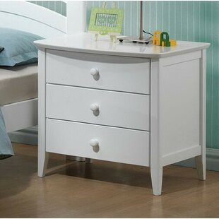 Find a Giese 3 Drawer Nightstand by Harriet Bee Reviews (2019) & Buyer's Guide