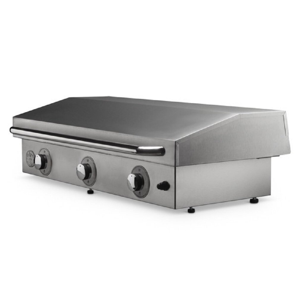 Le Griddle 3 Burner Built In Flat Top Convertible Gas Grill Wayfair