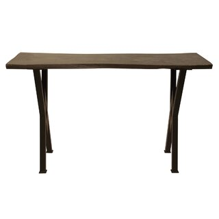 "Nakia 50"" Solid Wood Console Table by Foundry Select SKU:AC245874 Purchase"