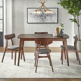 Connors Solid Wood Dining Set by George Oliver