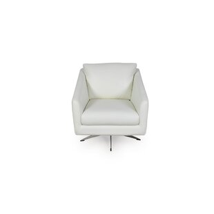 Hieu Swivel Club Chair by Orren Ellis