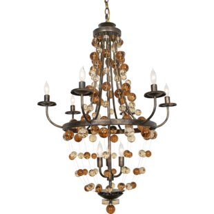 Legacy 9-Light Empire Chandelier by Van Teal