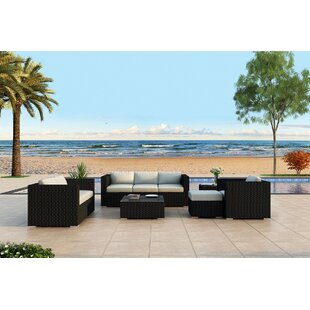 Azariah 5 Piece Sunbrella Sofa Set with Cushions