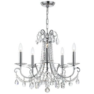 Willa Arlo Interiors Roesler 5-Light Cand..
