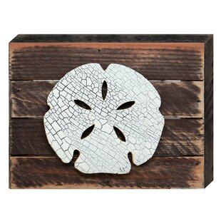 Vintage Sand Dollar Post Wooden Wall Décor  sc 1 st  Wayfair & Sand Dollar Wall Decor | Wayfair