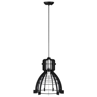 Williston Forge Dunnigan 1-Light Bell Pendant