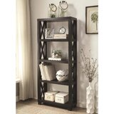 Abbigal 66.75 H x 30 W Etagere Bookcase by Red Barrel Studio®