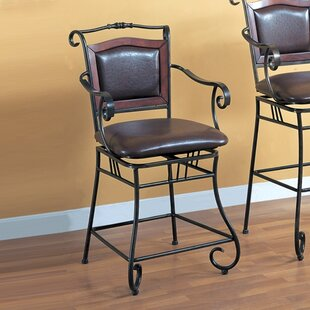 Online Reviews Bingham 24 Swivel Bar Stool By Wildon Home ®