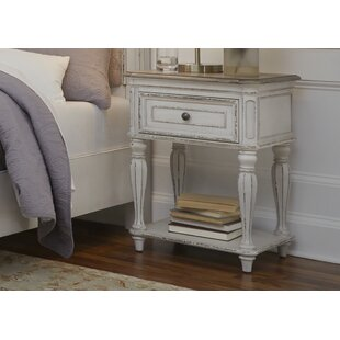 Niels 1 Drawer Nightstand by One Allium Way
