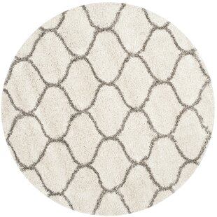 Quito Ivory/Gray Area Rug by Gracie Oaks