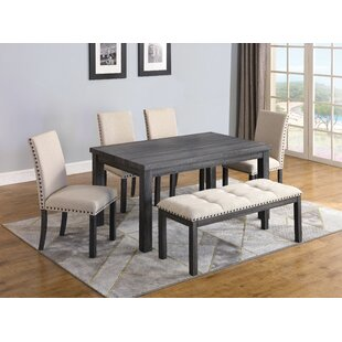 Quedgeley 6 Piece Dining Set by Gracie Oaks