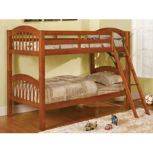 Trend Heather Twin Over Twin Bunk Bed by A&J Homes Studio Reviews (2019) & Buyer's Guide