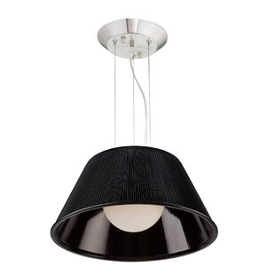 Ribo 1-Light Cone Pendant by Eurofase