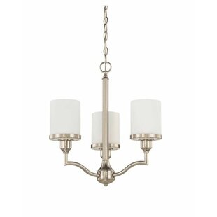 Breakwater Bay Ecklund 3-Light Shaded Chandelier