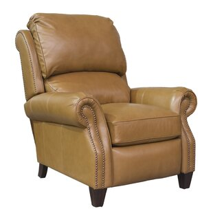 Tavon Leather Manual Recliner