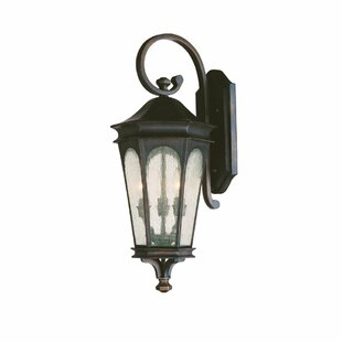 Best Inman Park 3-Light Outdoor Wall Lantern By Capital Lighting