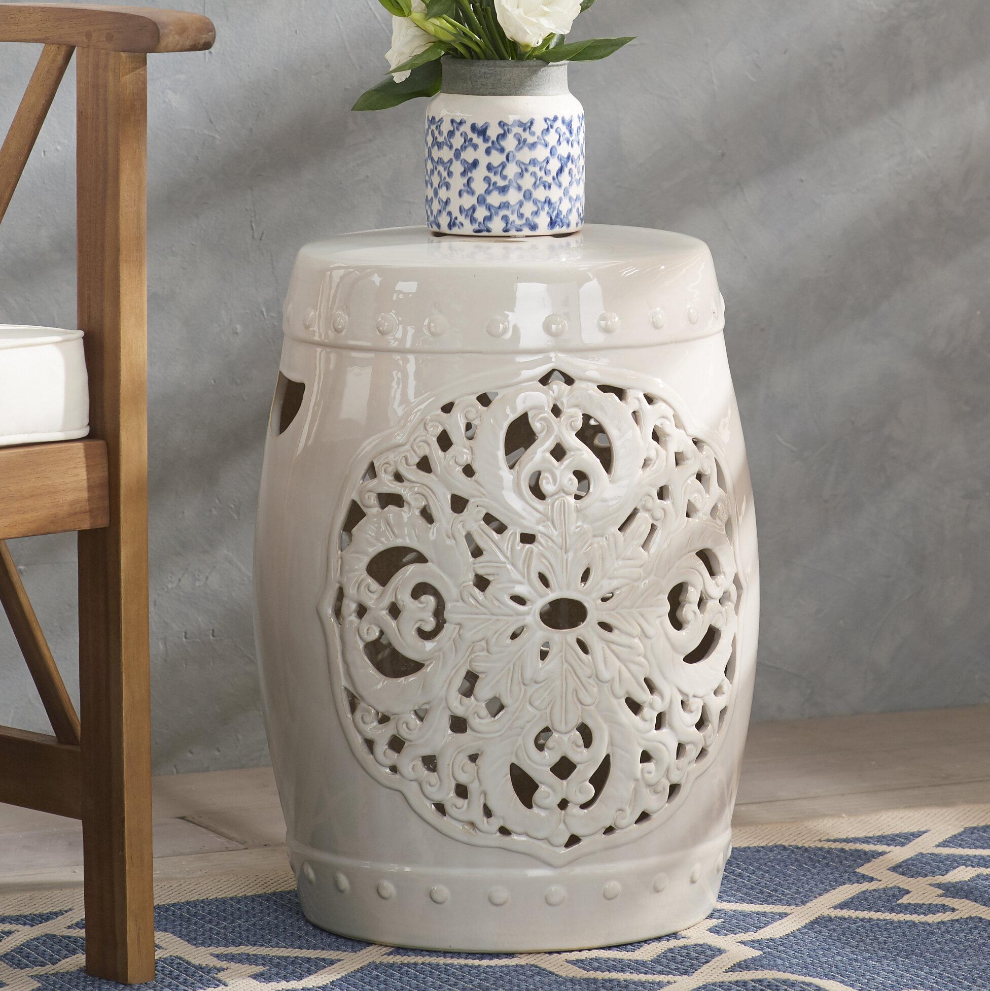 Super Nagle Flora Garden Stool Cjindustries Chair Design For Home Cjindustriesco