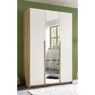 Fritz 2 Door Wardrobe By Mercury Row