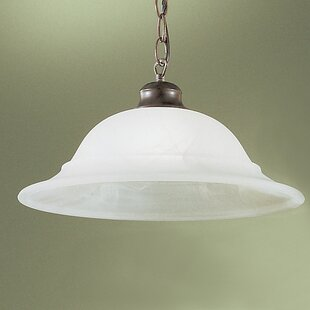 Classic Lighting Glendale 1-Light Bell Pendant