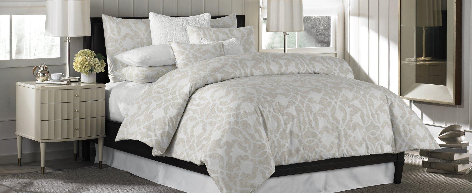 barbara barry poetical 3 piece comforter set & reviews | wayfair