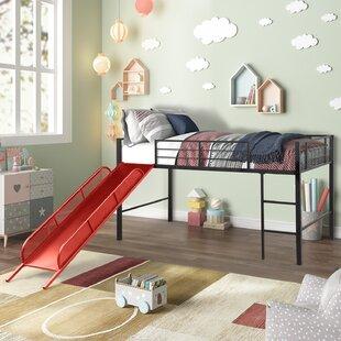 Mcdougall Metal Twin Loft Bed